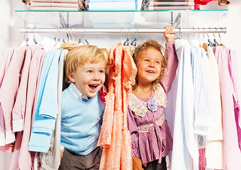 Children's clothes & toys eco-cleaning