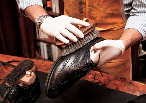 Footwear cleaning & repair